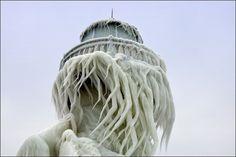 frozen lighthouses