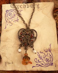 Medieval Heart Necklace