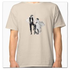 48221eef3 Star Wars Han Solo & Princess Leia/Fleetwood Mac Rumours Mash Up T Shirt on