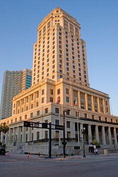 The old Miami Courthouse.