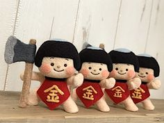 Handmade Crafts, Diy And Crafts, Crafts For Kids, Wool Dolls, Kawaii Room, Child Day, Winter Kids, Felt Toys, Stop Motion