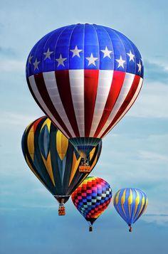 Balloons in Flight ~ by Charlie Prenzi