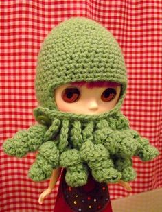 Cthulhu Hat for Blythe