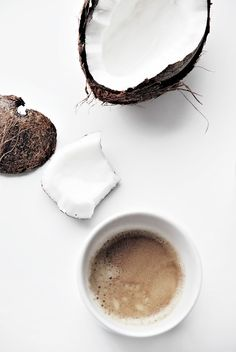 ♥ cute blog post how not to open a coconut. 1st comment tells HOW yay