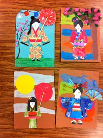 Drip, Drip, Splatter Splash: Asian Cultures and Chinese New Year One of my favo. Unicorn Diy, New Year Art, 4th Grade Art, China Art, Thinking Day, Art Lessons Elementary, Japan Art, Art Lesson Plans, Art Classroom