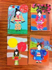 Drip, Drip, Splatter Splash, kimonos and samarais