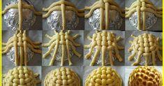 Korpica - pletenje ~ Recepti i Ideje Art Du Pain, Festive Bread, Bread Recipes, Cooking Recipes, Pancake Recipes, Bread Art, Bread Shaping, Braided Bread, Kolaci I Torte