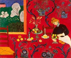 Henri Matisse, 1908 The red room. oil on canvas, Ermitage museum, San Pietroburgo
