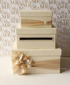 Wedding Card Box, Money Box, Gift Card Holder - Custom Made ...