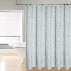 Regal Home Paisley Printed Shower Curtain