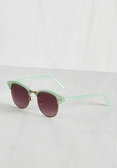 Oh What a Sight Sunglasses. Keep your eyes fashionably protected in every season with these rockin sunglasses! #blue #modcloth