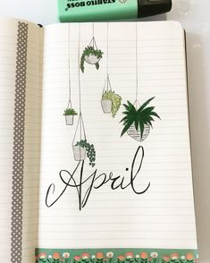 April 2018 ~bullet journal~