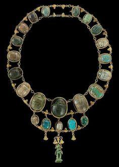 Twenty two Egyptian scarabs - Middle Kingdom to Ptolemaic Period, Circa 2000-30 B.C.