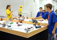 Deer Park ISD offers robotics summer camps for students in grades 2-6. The four-day sessions are $60 for morning or afternoon sessions in June-August. Students learn to build and program robots using Legos.