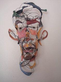 inspire dedesign...: Wire Sculptures!