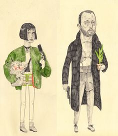 Mathilda & Leon « Sketches & Jottings, Ryan Humphrey