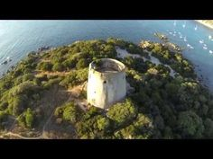 Cala Pira beach & Egypt under water DJI phantom 2 Zenuse h3 - 3d GoPro - YouTube
