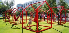 What Playgrounds can Learn from Swings as Art Installations, Part 1 - Playscapes
