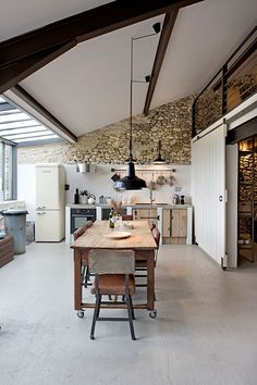 Just south of the Dordogne in the region of Lot-et-Garonne in southwest France, Bassivière are five boutique holiday apartments in an original 17th century farmhouse. The barn and the medieval tower n
