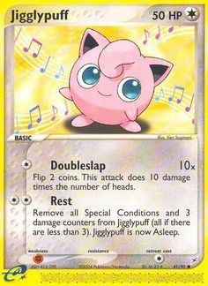 d610a8dd Game Card: Jigglypuff (Pokémon TCG) (Team Aqua VS Team Magma Set)