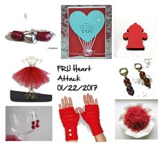 """""""FRU Heart Attack"""" by omearascottagecharm ❤ liked on Polyvore featuring art and etsyfru"""