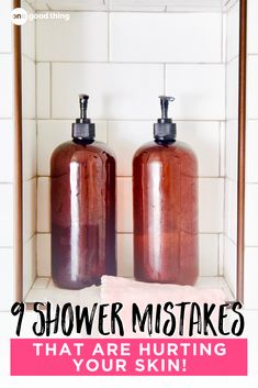 Tired of dealing with dry, itchy skin? Your shower habits could be to blame! You might be surprised at this common mistakes that can contribute to dry skin! Diy Beauty Items, Dry Skin, Your Skin, Dry Body Brushing, Homemade Shampoo, Skin Problems, Fun To Be One, Getting Old, Home Remedies
