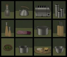 Buggy's retreat: Kitchen Clutter Pack