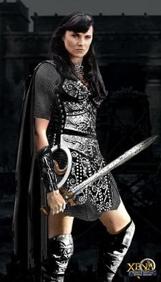 Xena Warrior Princess in chain maille