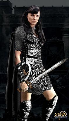 Xena Warrior Princess in chain maille