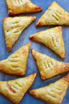 Easy Peach Turnovers  | Just a Taste