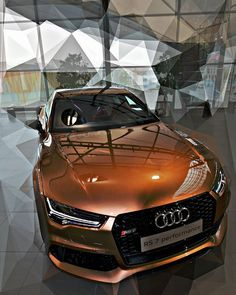 Audi RS 7 Sportback performance The color is sooooo fancy! Ferrari Laferrari, Maserati, Lamborghini, Audi 2017, Audi S4, Dream Cars, Allroad Audi, Audi S5 Sportback, Carros Audi