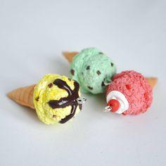 Ice cream cones by nocolate_  Check my IG: nocolate_