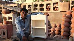 Un indien crée le réfrigérateur autonome en argile