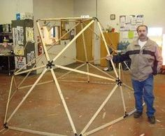 GEODESIC FRAME STRUCTURES
