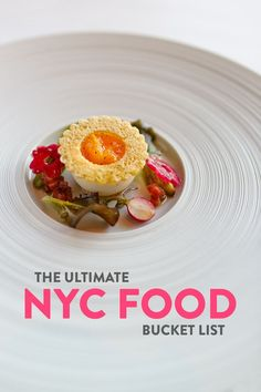 Heading to NYC? This is your ultimate NYC food bucket list with 99 Best Places to Eat in NYC from fine dining to cheap eats // Local Adventurer ! New York New York Bucket List, Nyc Christmas, Holiday, York Restaurants, New York City Travel, Best Places To Eat, Food Places, Living In New York, New Recipes