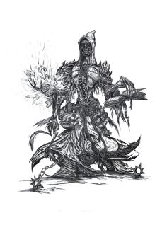 Lich mage concept by Yellonek http://willhorn.deviantart.com https://www.facebook.com/yellogfx/