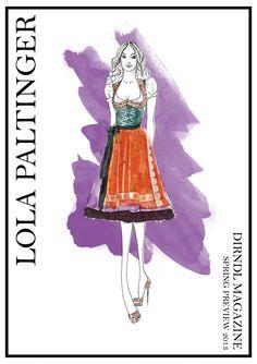 Dirndl Magazine - Spring Preview 2013 | LOLA PALTINGER