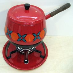 lovely vintage kitchen gadgets - Ha Ha! I have one of these fondue pots.