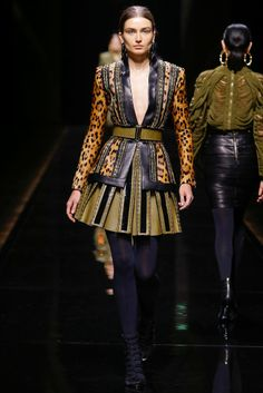 Balmain 발망 : Fall/Winter 2014 Ready-to-Wear Paris