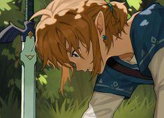 The Legend Of Zelda, Legend Of Zelda Breath, Character Sketches, Character Art, Zelda Video Games, Botw Zelda, Link Art, Link Zelda, Breath Of The Wild