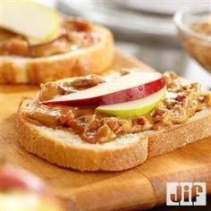 Deluxe Almond Butter Sandwiches Recipe — Dishmaps