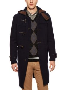 Gloverall Monty Duffle Coat by Fred Perry on Gilt.com