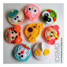 Crochet Wallet, Crochet Keychain, Crochet Purses, Crochet Gifts, Diy Crochet, Crochet Toys, Crochet Baby, Easter Crochet Patterns, Applique Patterns