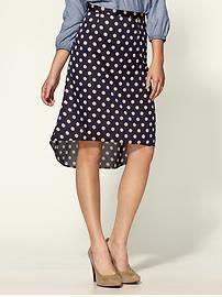 Pim + Larkin Polka Dot Skirt.