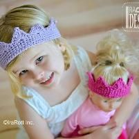 Crocheting: Princess Crown Crochet PDF Pattern