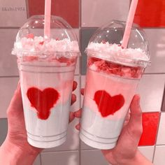 Find images and videos about pink, food and aesthetic on We Heart It - the app to get lost in what you love. Cute Food, Yummy Food, Pink Foods, Cute Desserts, Aesthetic Food, Aesthetic Themes, Food Porn, Food And Drink, Just For You