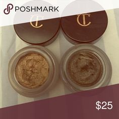 Cream shadow by Charlotte Tilbury Used but 98% is left. Make me a reasonable offer and they are yours. ct Makeup Eyeshadow