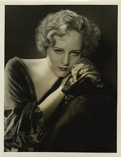 Madge Evans - Photo by George Hurrell