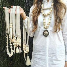 Twine & Twig Winter White Jewelry