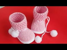 Crochet Baby Sandals, Crochet Shoes, Crochet Slippers, Baby Booties Knitting Pattern, Knitting Patterns, Crochet Patterns, Easy Crochet, Free Crochet, Crochet Baby Costumes